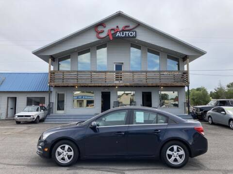 2015 Chevrolet Cruze for sale at Epic Auto in Idaho Falls ID