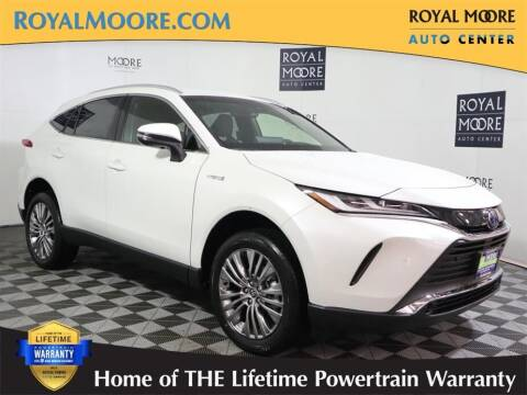 2021 Toyota Venza for sale at Royal Moore Custom Finance in Hillsboro OR
