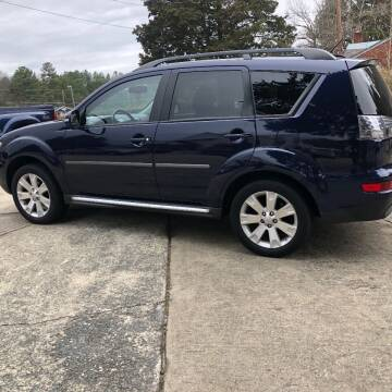 2012 Mitsubishi Outlander for sale at Moore's Motors in Durham NC