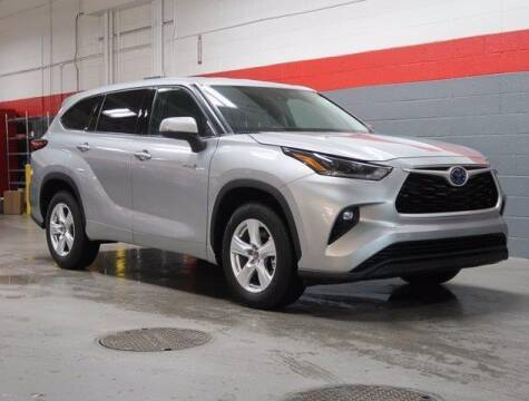 2021 Toyota Highlander Hybrid for sale at CU Carfinders in Norcross GA