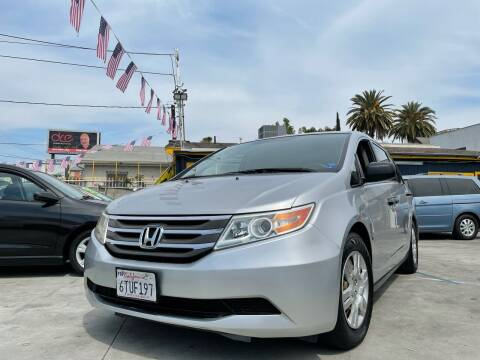 2012 Honda Odyssey for sale at Good Vibes Auto Sales in North Hollywood CA
