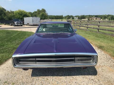 1970 Dodge Charger for sale at 500 CLASSIC AUTO SALES in Knightstown IN