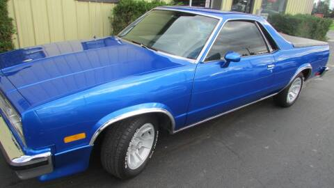 1984 Chevrolet El Camino for sale at Toybox Rides in Black River Falls WI