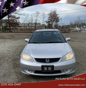 2004 Honda Civic for sale at MD Euro Auto Sales LLC in Hasbrouck Heights NJ