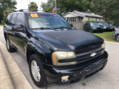 2003 Chevrolet TrailBlazer for sale at Castagna Auto Sales LLC in Saint Augustine FL