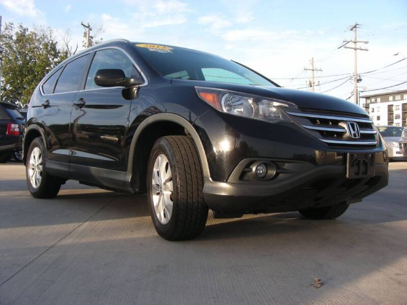 2013 Honda CR-V for sale at EURO MOTORS AUTO DEALER INC in Champaign IL