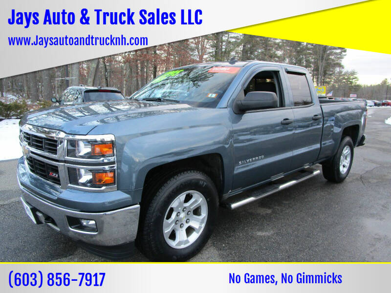 2014 Chevrolet Silverado 1500 for sale at Jays Auto & Truck Sales LLC in Loudon NH