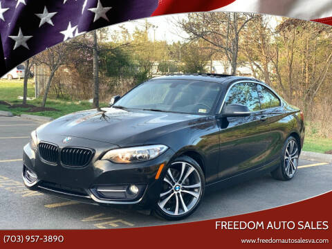 2017 BMW 2 Series for sale at Freedom Auto Sales in Chantilly VA
