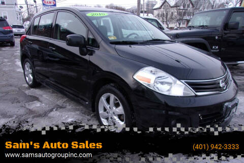 2010 Nissan Versa for sale at Sam's Auto Sales in Cranston RI