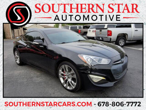 2014 Hyundai Genesis Coupe for sale at Southern Star Automotive, Inc. in Duluth GA