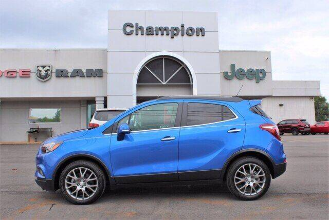 2018 Buick Encore for sale at Champion Chevrolet in Athens AL