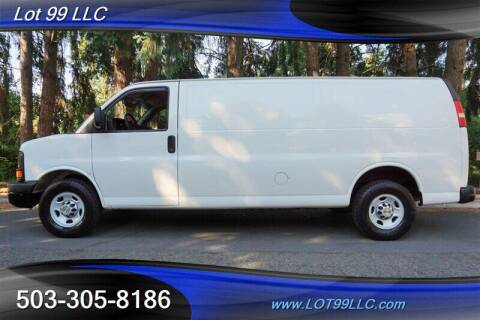 2012 Chevrolet Express Cargo for sale at LOT 99 LLC in Milwaukie OR