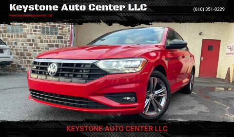 2019 Volkswagen Jetta for sale at Keystone Auto Center LLC in Allentown PA