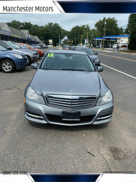 2012 Mercedes-Benz C-Class for sale at Manchester Motors in Manchester CT