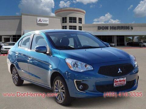 2020 Mitsubishi Mirage G4 for sale at Don Herring Mitsubishi in Plano TX