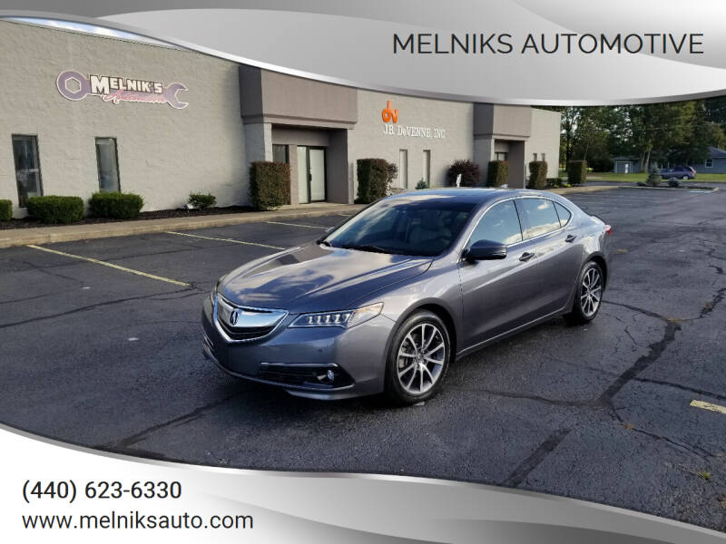 2017 Acura TLX for sale at Melniks Automotive in Berea OH
