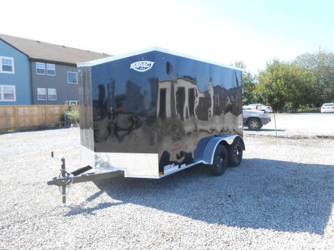 2022 Impact Quake 7x12 for sale at Jerry Moody Auto Mart - Trailers in Jeffersontown KY