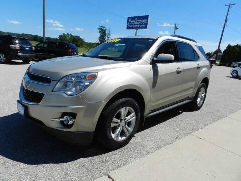 2013 Chevrolet Equinox for sale at Leitheiser Car Company in West Bend WI