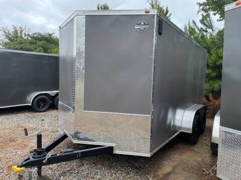 2021 7X14 Tandem Axle Enclosed Cargo Trailer for sale at Direct Connect Cargo in Tifton GA