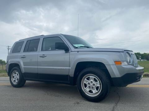 2014 Jeep Patriot for sale at ILUVCHEAPCARS.COM in Tulsa OK