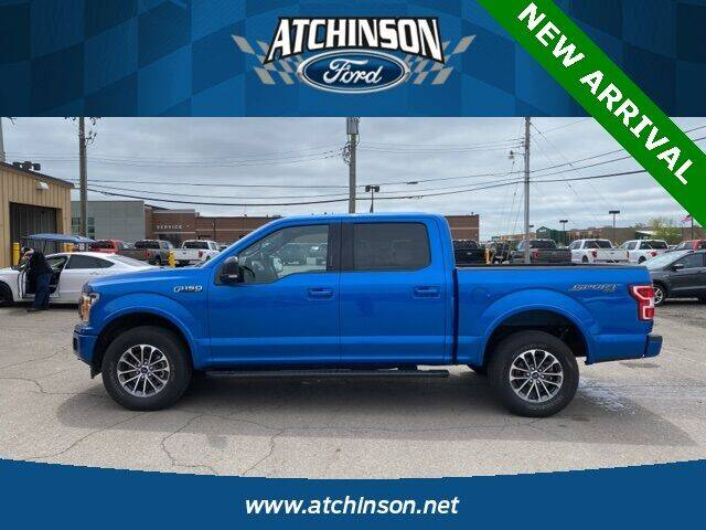 2019 Ford F-150 for sale at Atchinson Ford Sales Inc in Belleville MI