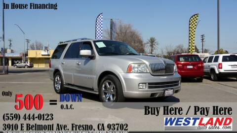 2006 Lincoln Navigator for sale at Westland Auto Sales in Fresno CA