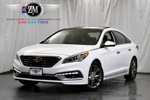 2015 Hyundai Sonata for sale at ZONE MOTORS in Addison IL