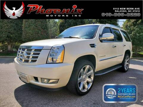 2009 Cadillac Escalade for sale at Phoenix Motors Inc in Raleigh NC