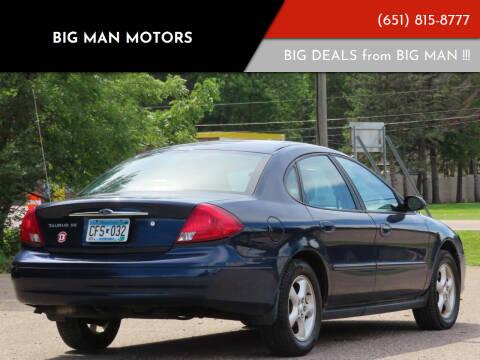 2001 Ford Taurus for sale at Big Man Motors in Farmington MN