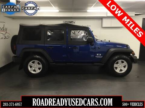 2009 Jeep Wrangler Unlimited for sale at Road Ready Used Cars in Ansonia CT