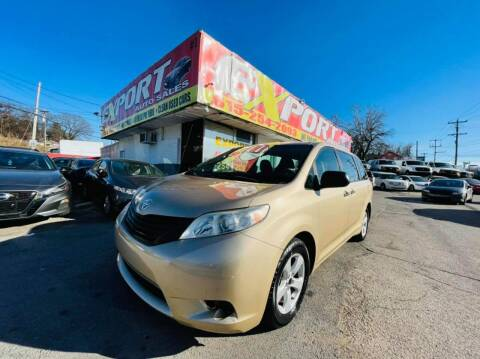 2012 Toyota Sienna for sale at EXPORT AUTO SALES, INC. in Nashville TN