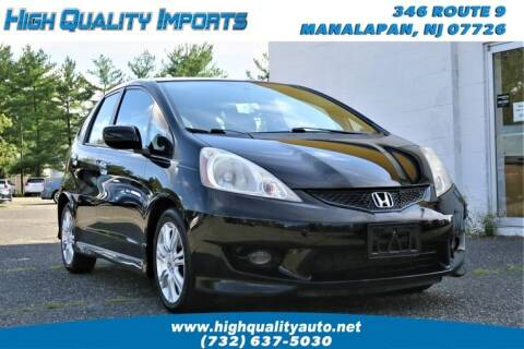 2009 Honda Fit for sale at High Quality Imports in Manalapan NJ