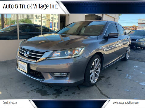 2013 Honda Accord for sale at Auto & Truck Village Inc. in Van Nuys CA