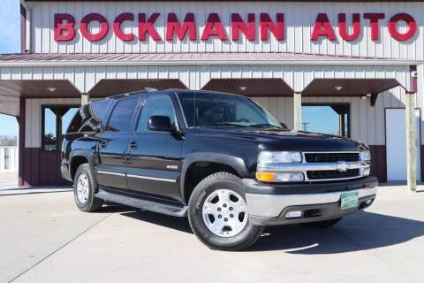 2000 Chevrolet Suburban for sale at Bockmann Auto Sales in St. Paul NE