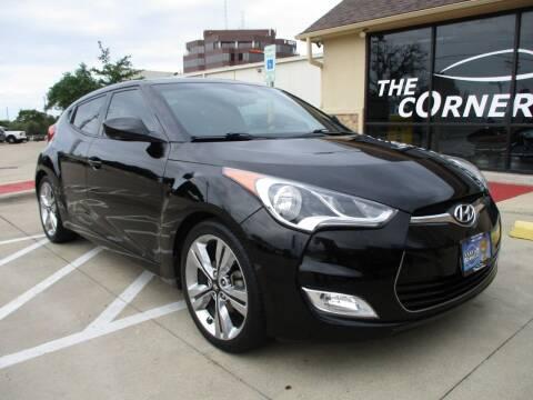 2016 Hyundai Veloster for sale at Cornerlot.net in Bryan TX