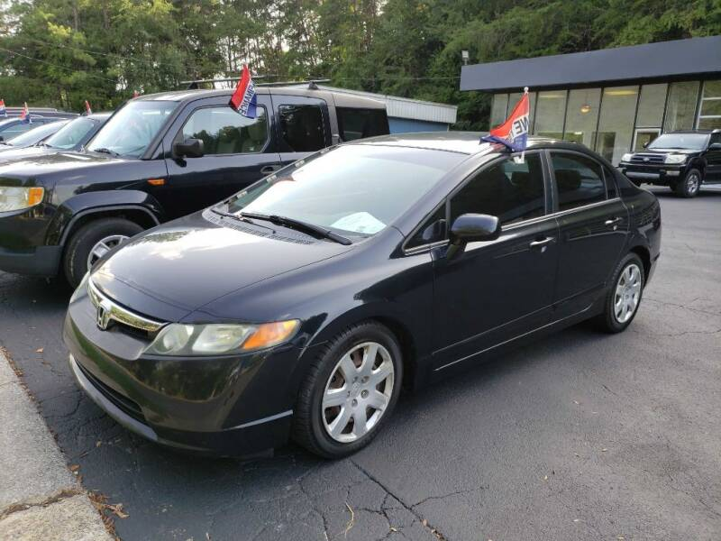 2007 Honda Civic for sale at Curtis Lewis Motor Co in Rockmart GA