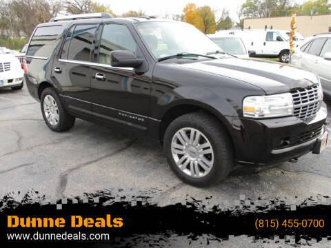2013 Lincoln Navigator for sale at Dunne Deals in Crystal Lake IL