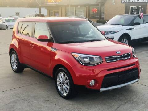 2019 Kia Soul for sale at Safeen Motors in Garland TX