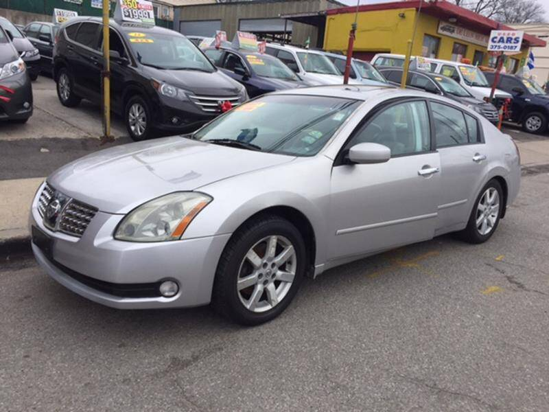 2005 Nissan Maxima for sale at White River Auto Sales in New Rochelle NY