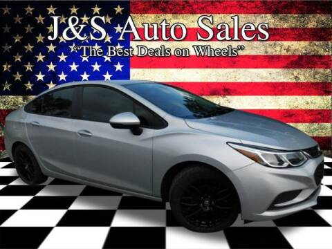 2017 Chevrolet Cruze for sale at J & S Auto Sales in Clarksville TN