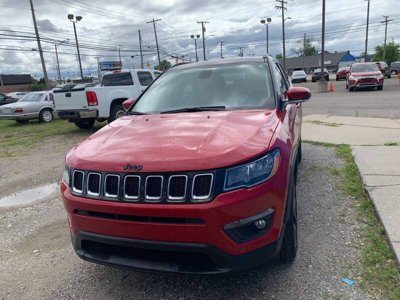 2019 Jeep Compass for sale at M-97 Auto Dealer in Roseville MI