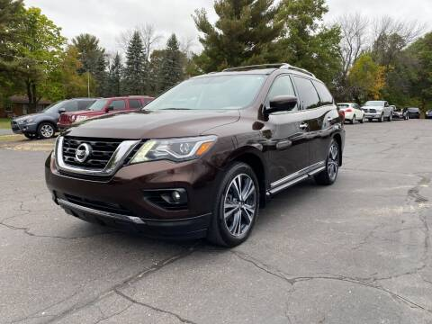 2020 Nissan Pathfinder for sale at Northstar Auto Sales LLC in Ham Lake MN