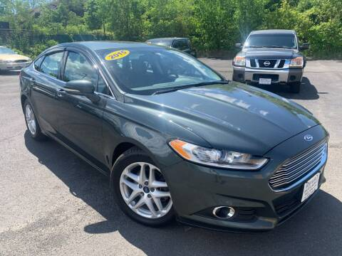 2015 Ford Fusion for sale at Bob Karl's Sales & Service in Troy NY