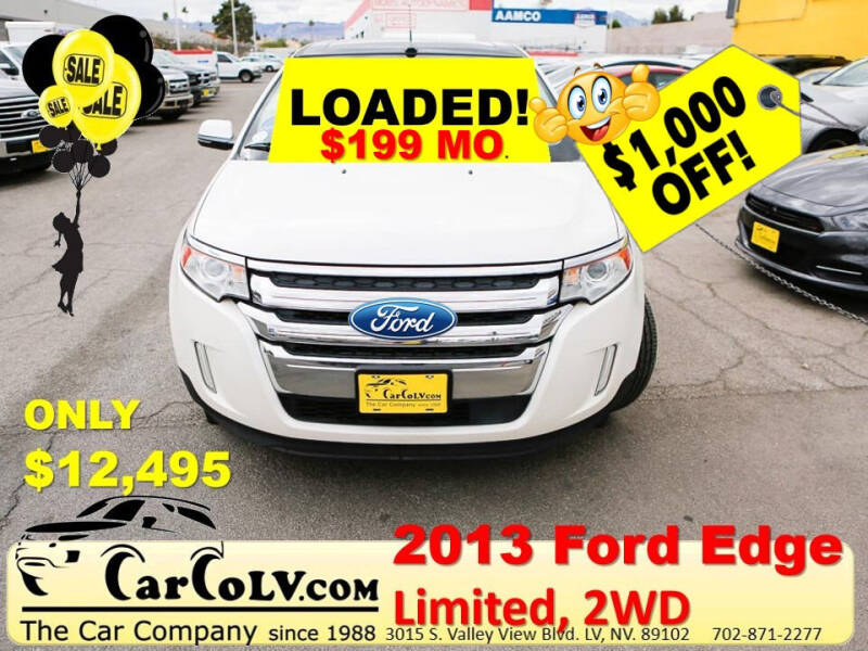 2013 Ford Edge for sale at The Car Company in Las Vegas NV