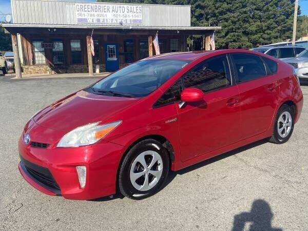 2013 Toyota Prius for sale at Greenbrier Auto Sales in Greenbrier AR
