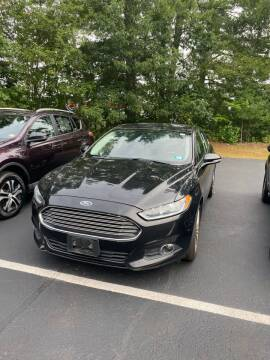 2015 Ford Fusion for sale at BELKNAP SUBARU in Tilton NH