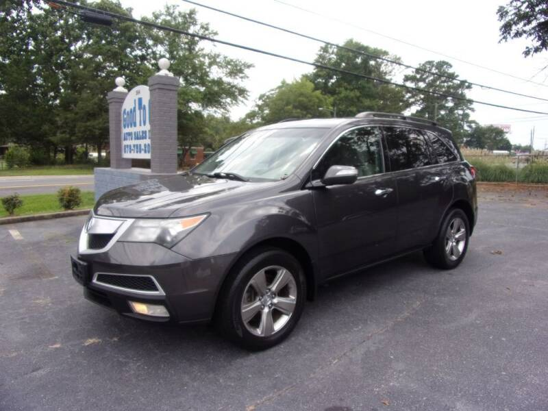 2010 Acura MDX for sale at Good To Go Auto Sales in Mcdonough GA
