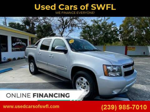 2012 Chevrolet Avalanche for sale at Used Cars of SWFL in Fort Myers FL