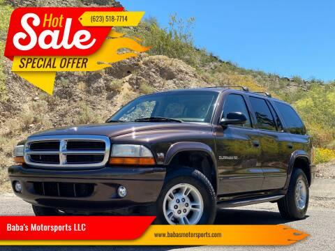 1998 Dodge Durango for sale at Baba's Motorsports, LLC in Phoenix AZ