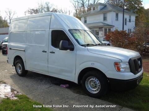 2015 Nissan NV Cargo for sale at Vans Vans Vans INC in Blauvelt NY